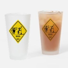 Man-Ho-1 Drinking Glass