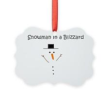 snowmaninblizzard2 Ornament