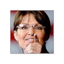 "ART Palin 2 Square Sticker 3"" x 3"""