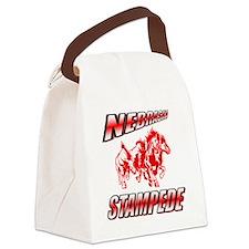 NE-Stampede-Logo Canvas Lunch Bag