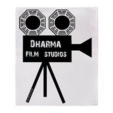 Dharma Film Studios Camera Throw Blanket