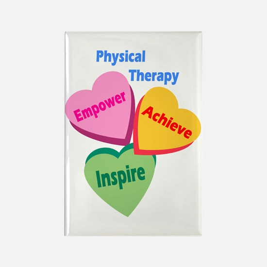 PT Multi Hearts Rectangle Magnet (10 pack)