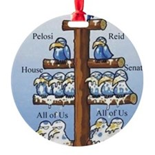 Govnmt flow chart Ornament