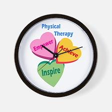 PT Multi Hearts Wall Clock