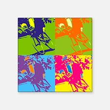 """Whorhal Square Sticker 3"""" x 3"""""""