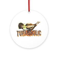 Turkaholic Ornament (Round)