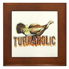 Turkaholic Framed Tile