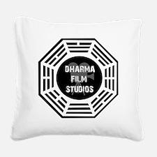 Dharma Films Studios Square Canvas Pillow