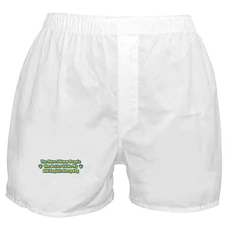 Like My Sheepdog Boxer Shorts