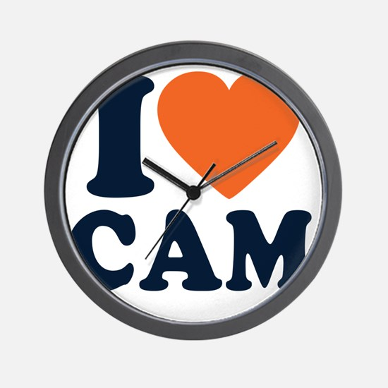 Love C White Wall Clock
