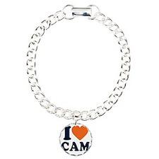 Love C White Bracelet