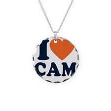 Love C White Necklace