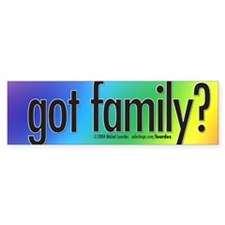 Barnes-Sanders got family? Bumper