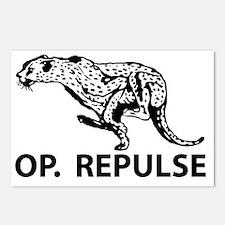 OP. Repulse Postcards (Package of 8)