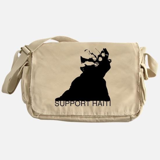 Haiti Relief Messenger Bag