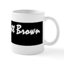 scott brown bumper stickerd Mug