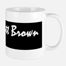 scott brown bumper stickerd Mug