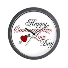 Commercialize Love Day Wall Clock