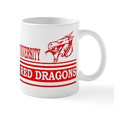 Northern Masovia University Red Dragons Mug
