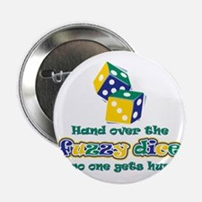 """hand_over_dice 2.25"""" Button"""