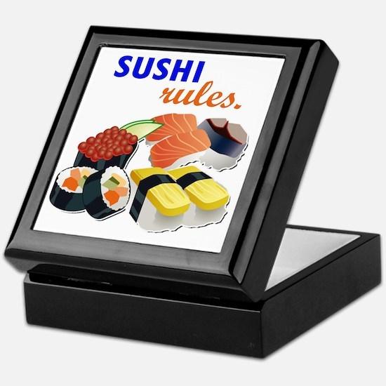 Sushi Platter Keepsake Box