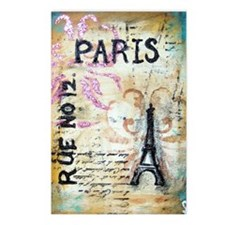 cafe9x12eiffel Postcards (Package of 8)