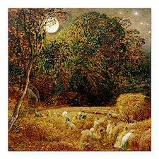 "Harvest Moon by Samuel P Square Car Magnet 3"" x 3"""