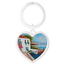mom-cal1 Heart Keychain