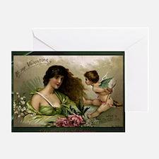 Victorian Valentine To My Valentine Greeting Card