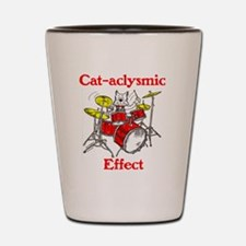 CAT-ACLYSMIC EFFECT Shot Glass
