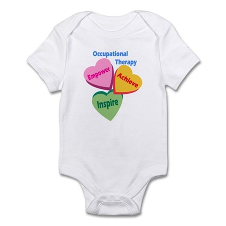 OT Multi Heart Infant Bodysuit