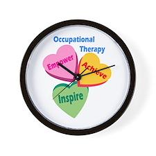 OT Multi Heart Wall Clock