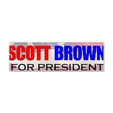 ScottBrownPresident Car Magnet 10 x 3