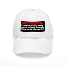shesmypersonbutton Cap