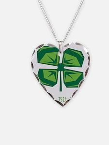 A Wee Bit Irish Clover Necklace