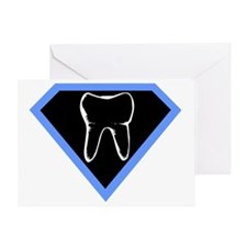 super-dentist-shirt Greeting Card