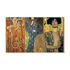 Gustav Klimt - Strong Women Wall  Decal Sticker