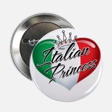 "CP1013-Italian Princess 2.25"" Button"