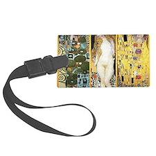 Gustav Klimt - Couples Luggage Tag