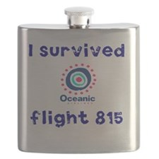 i survived oceanic airlines flight 815 Flask