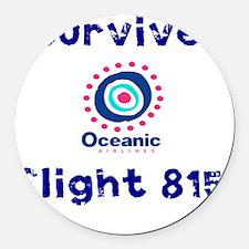 i survived oceanic airlines fligh Round Car Magnet