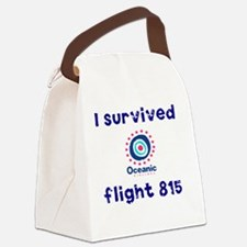 i survived oceanic airlines fligh Canvas Lunch Bag