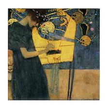 Gustav Klimt - Music Tile Coaster