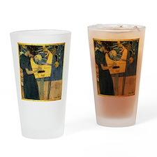 Gustav Klimt - Music Drinking Glass