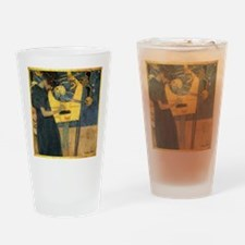 Gustav Klimt - Music Drinking Glass