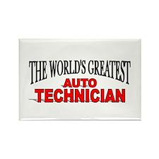 """The World's Greatest Auto Technician"" Rectangle M"
