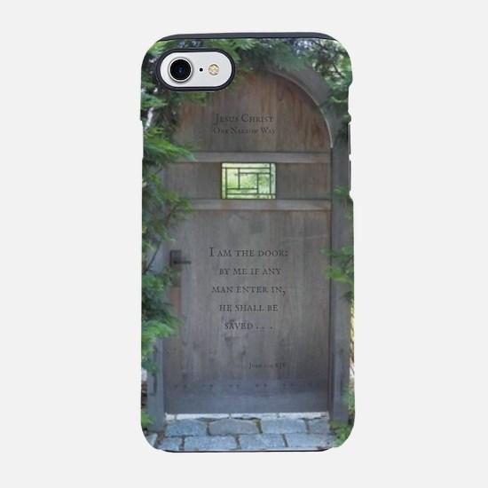 Jesus Christ Is the Door KJV N iPhone 7 Tough Case