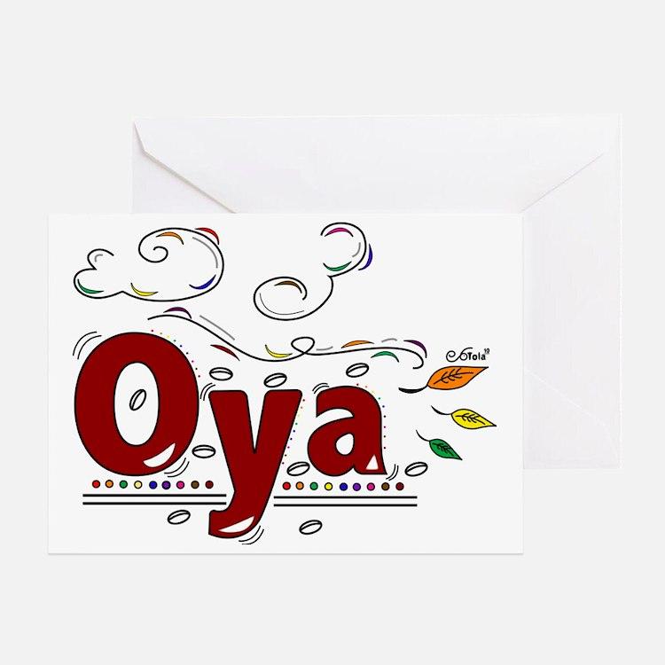 Oya Greeting Card