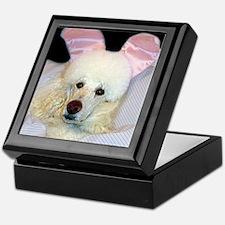 Bedroom Poodle Keepsake Box