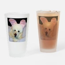 Bedroom Poodle Drinking Glass